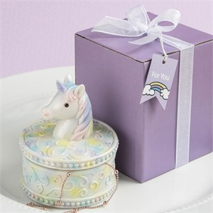 Delightful Unicorn Design Jewelry / Gift Box