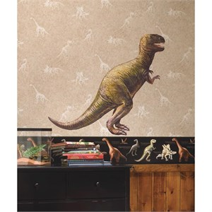 Dinosaur T-Rex Peel And Stick Giant Wall Decal