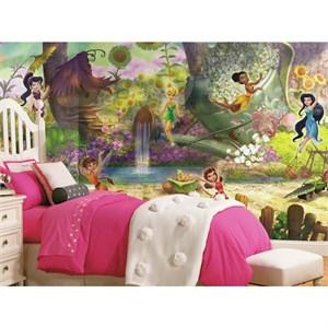 Disney Fairies Pixie Hollow Mural