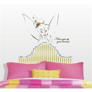 Disney Fairies-Tinkerbell Headboard Giant Decal