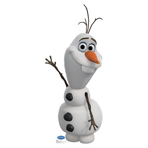 Disney Frozen  Olaf Lifesized Standup