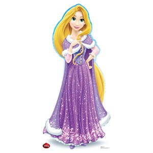 Disney Holiday Rapunzel Cardboard Cutout