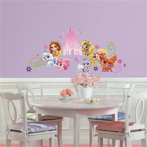 Disney Princess Palace Pets Wall Graphic Decal