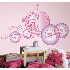 Disney Princess-Princess Carriage Giant Decal