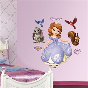 Disney Sofia the First REALBIG Wall Decal
