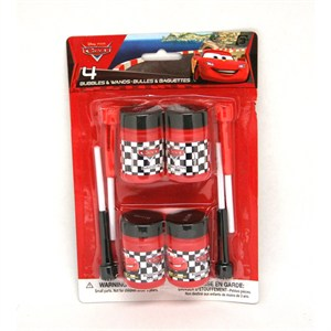 Disney's Cars Bubble Bottles And Wands