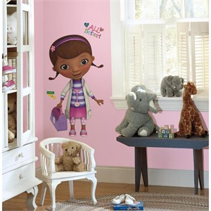 Doc McStuffins Peel And Stick Giant Decal