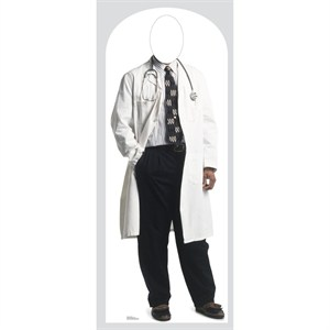 Doctor Stand In-Lifesized Standup