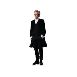 Doctor Who Hands in Pockets Cardboard Cutout