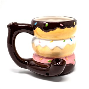 Donut Roast And Toast Pipe Mug