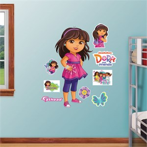 Dora And Friends REALBIG Wall Decal