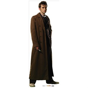 Doctor Who 10th Doctor Overcoat Standup
