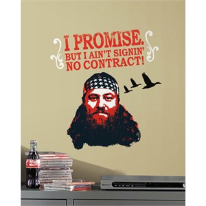 Duck Dynasty Willie Giant Decal