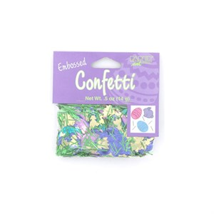 Easter Fun Embossed Confetti