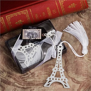 Eiffel Tower Bookmark Favors