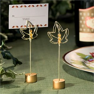 Fall Themed Place Card Holders