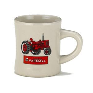 Farmall Tractor Mugs-White