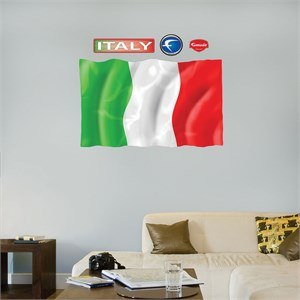 Flag of Italy REALBIG Wall Decal