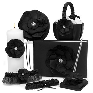 Floral Fantasy Black Collection