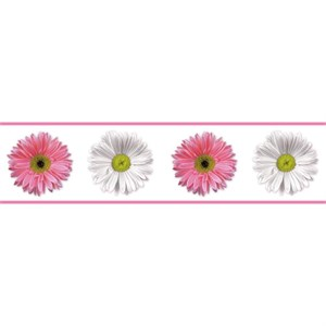 Flower Power Peel And Stick Border