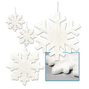 Fluffy Snowflakes