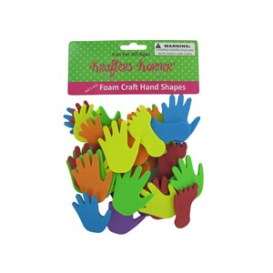 Foam Craft Hand And Feet Shapes