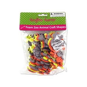 Foam Zoo Animal Craft Shapes
