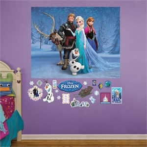 Frozen Mural REALBIG Wall Decal
