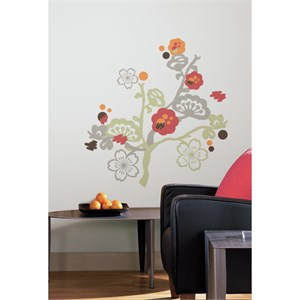 Garden of Paradise Peel And Stick Giant Decal