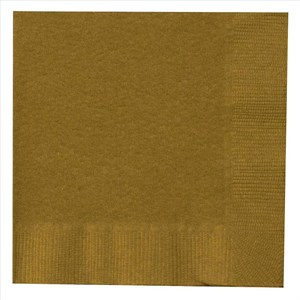 Paper Lunch Napkins - Gold