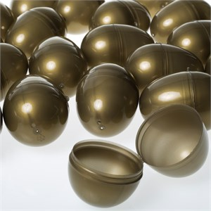 Gold Hinged Easter Eggs