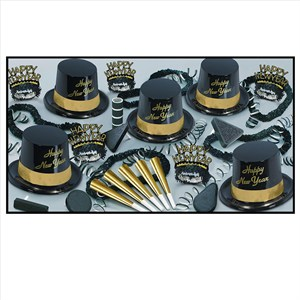 Gold Legacy New Years Party Kit For 50