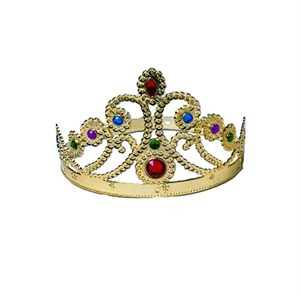 Gold Queen Crown