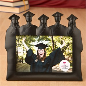 Graduation Silhouette Group Frame 4 x 6