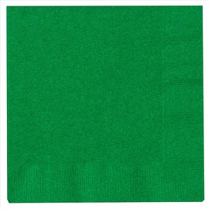 Paper Beverage Napkins - Green