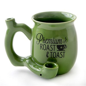 Green Tea Roast And Toast Mug