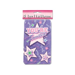 Gymnastics/Cheerleader/Dance Invitations