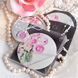 Handy Rose Pocket Mirror