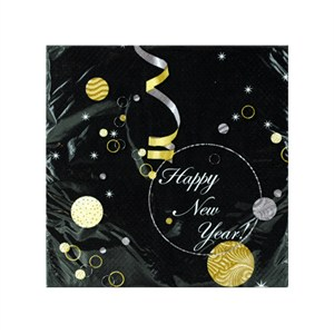Happy New Year Dessert Napkins