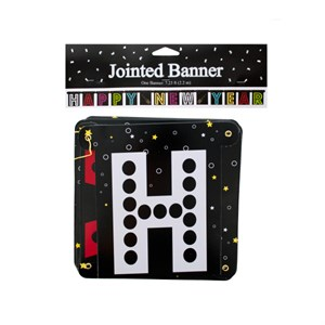 Happy New Year Jointed Banners