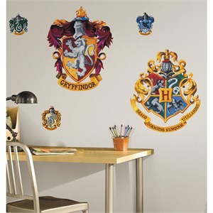 Harry Potter-Crest Peel And Stick Giant Wall Decal
