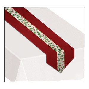 Holly And Berry Table Runner