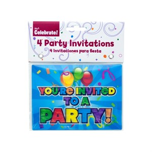 Holographic Party Invitations