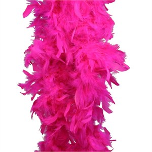 Hot Pink Feather Boa (6', 60 grams)