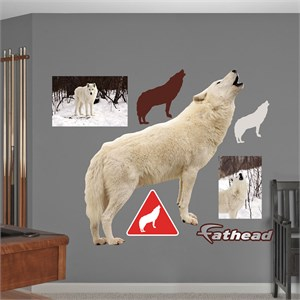 Howling Wolf REALBIG Wall Decal