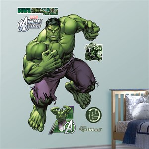 Hulk Avengers Assemble REALBIG Wall Decal