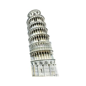 Italy Leaning Tower of Pisa Cardboard Cutout