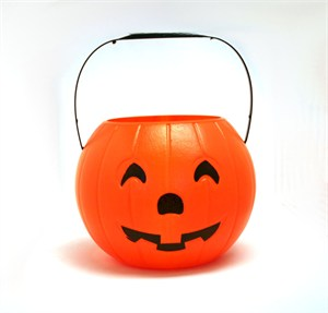 Jack-O-Lantern Candy Bucket For Trick or Treating