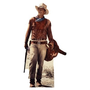 John Wayne Saddle Lifesized Standup