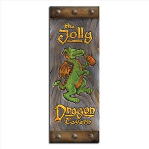 Jolly Dragon Tavern Sign